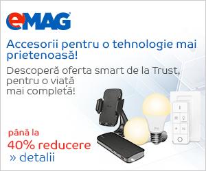 Campanie de reduceri pana la 40% reducere la accesoriile si tehnologiile smart Trust