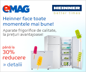Campanie de reduceri Aparate frigorifice Heinner
