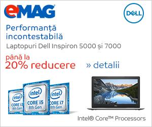 Campanie de reduceri Laptopuri 3000 si 5000 cu Intel gen 8