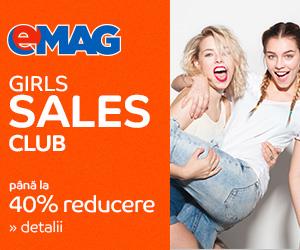 Campanie de reduceri Girls Sales Club, Reduceri seducătoare la produse încântătoare