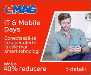 Campanie de reduceri [Campanii mari] IT& Mobile Days, 02- 08.07.2018
