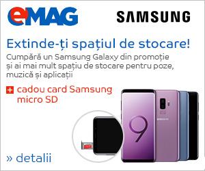 Campanie de reduceri microSD cadou la Samsung