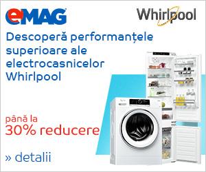 Campanie de reduceri Electrocasnice mari Whirlpool