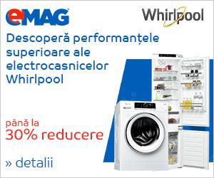 Campanie de reduceri Electrocasnice mari Whirlpool - Zilele casei tale