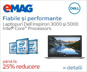 Campanie de reduceri [IT] Laptopuri Dell Inspiron 3000 si 5000 cu procesor Intel i5, 03- 13.07.2018