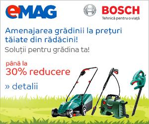 Campanie de reduceri Pana la 30% reducere la gama de gradinarit Bosch