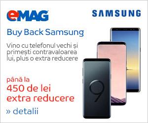 Campanie de reduceri Buy back Samsung Iulie