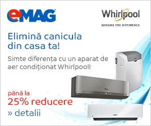 Campanie de reduceri Aer conditionat Whirlpool