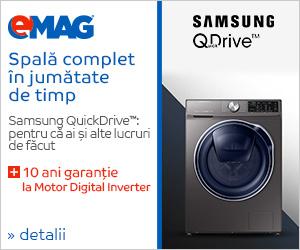 Campanie de reduceri Masini de spalat rufe Samsung QDrive