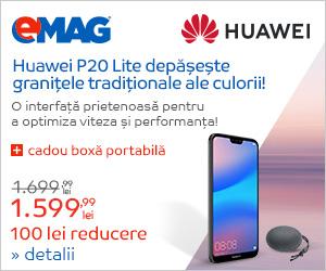 Campanie de reduceri Cadou la Huawei P20 Lite