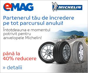 Campanie de reduceri Campanie anvelope Michelin