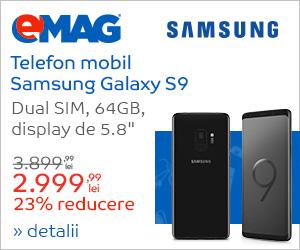 Campanie de reduceri Samsung S9 in Samsung blue Week
