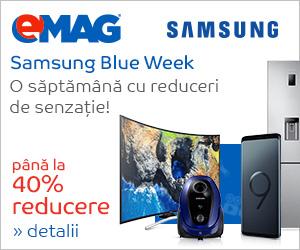 Campanie de reduceri Samsung Blue Week iulie 2018