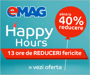 Campanie de reduceri Happy Hours  22 iulie