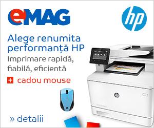 Campanie de reduceri Imprimante HP+ cadou mouse