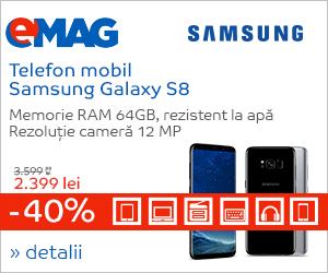 Campanie de reduceri Campanie Samsung S8 in IT&Mobile Days