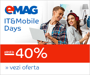 Campanie de reduceri IT& Mobile Days august, 30.07- 15.08.2018