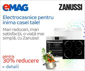 Campanie de reduceri Electrocasnice mari Zanussi