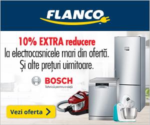 Campanie de reduceri 10% EXTRA REDUCERE la produsele Bosch din oferta