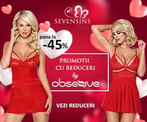 Campanie de reduceri Promotii de 45% la produsele Obsessive!