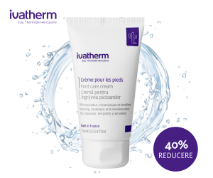 Campanie de reduceri Crema pentru ingrijirea picioarelor cu 40% reducere