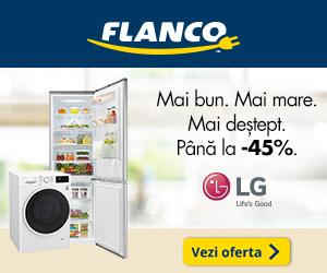 Campanie de reduceri Pana la 45% reducere la produsele LG din oferta