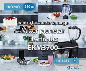 Campanie de reduceri Mixer planetar Electolux EKM3700