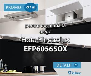 Campanie de reduceri Hota Electrolux EFP60565OX