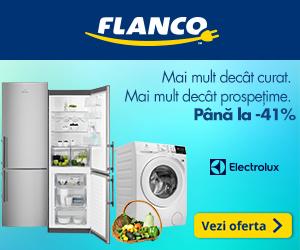 Campanie de reduceri Pana la 41% reducere la produsele Electrolux