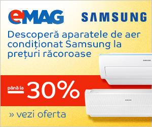 Campanie de reduceri Saptamana Electrocasnicelor - Aparate de aer conditionat Samsung