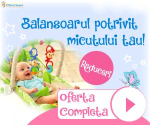 Campanie de reduceri Leagane si balansoare pentru cei mici