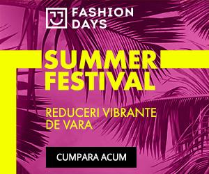 Campanie de reduceri Summer Festival - reduceri semnificative pentru produsele din shop