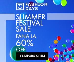 Campanie de reduceri Summer Festival Sale - reduceri de pana la 60%