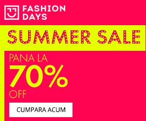 Campanie de reduceri Summer Sale - reduceri de pana la 70%