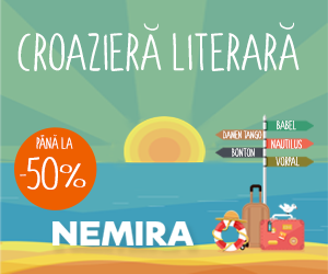 Campanie de reduceri Croaziera literara cu Nemira. Reduceri de pana la - 50 %