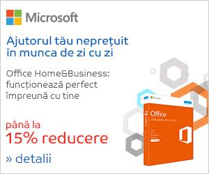 Campanie de reduceri Campanie Microsoft Home&Business, 7-13 august 2018