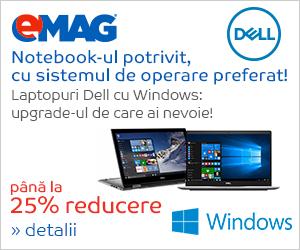 Campanie de reduceri Laptopuri cu Windows, 17- 23.08.2018