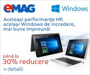Campanie de reduceri Laptopuri HP cu Windows, 22- 27.08.2018