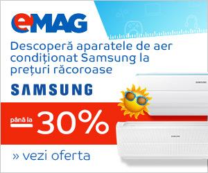 Campanie de reduceri Aer conditionat Samsung