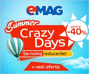 Campanie de reduceri Crazy Days august 2018