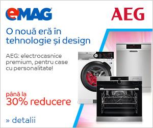 Campanie de reduceri Electrocasnice mari AEG - pana la 30% reducere