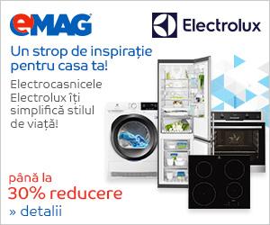 Campanie de reduceri Electrocasnice mari Electrolux