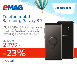 Campanie de reduceri Campanie Crazy Days - Samsung Galaxy S9