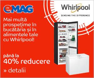Campanie de reduceri Aparate frigorifice Whirlpool