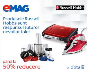 Campanie de reduceri Electrocasnice mici Russell Hobbs