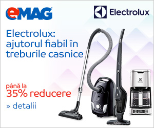 Campanie de reduceri Electrocasnice mici Electrolux - pana la 35% reducere