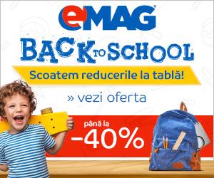 Campanie de reduceri Back to School 2018