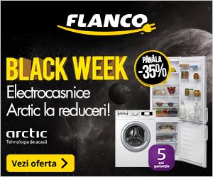 Campanie de reduceri Pana la -35% la produsele Arctic - Black Week