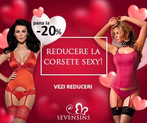 Campanie de reduceri Corsete sexy - reduceri de pana la 45%