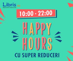 Campanie de reduceri Happy Hours cu Super Reduceri la Carti, Jocuri, Muzica, Filme!